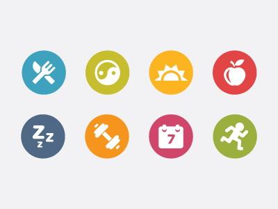 circle icons图标设计