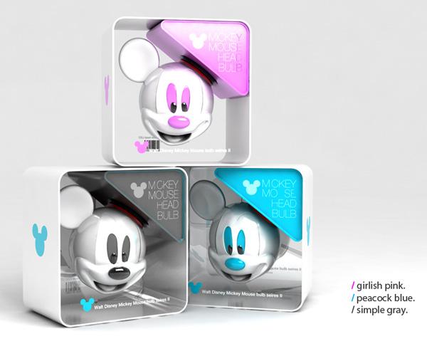 米奇灯泡创意设计