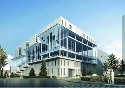 清华大学法学院图书馆设计方案_2