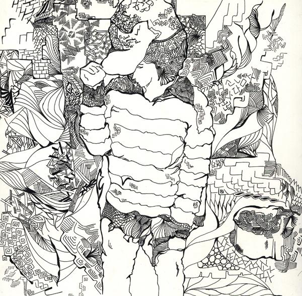 西安欧亚学院学生作品-手绘插画