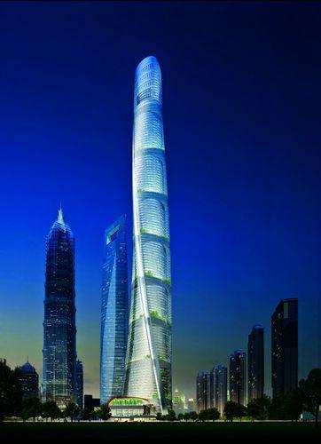 """2014年上海第一高楼----""""上海中心"""