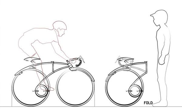 创意概念自行车设计图片