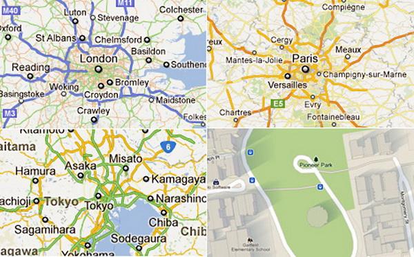 透视谷歌地图设计理念-ui博客精选