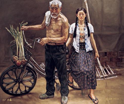 2013年中国画展征稿_杨飞云版画作品(二) - 视觉同盟(VisionUnion.com)