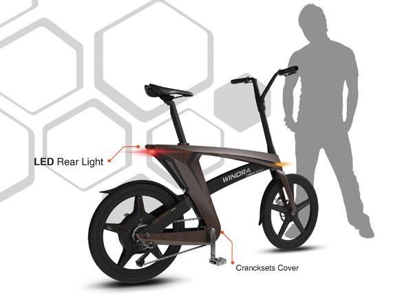 一个超级简单的自行车结构