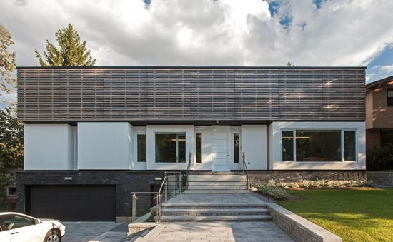 加拿大外廊住宅