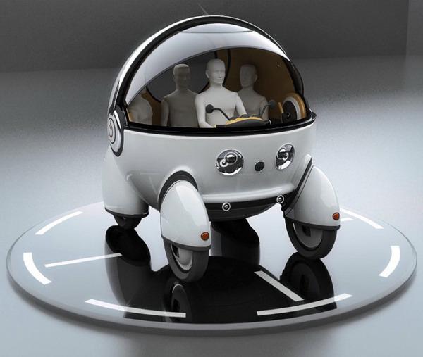 未来概念代步车创意设计图片