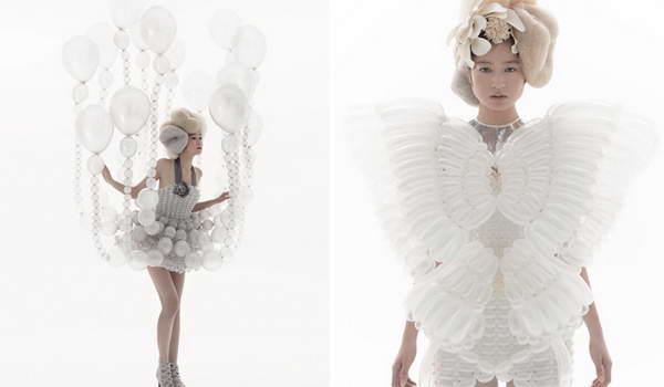 气球服装创意设计图片