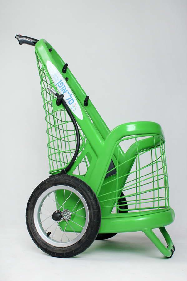 自行车专用小拖车设计
