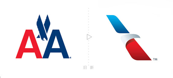 美国航空公司推出新logo