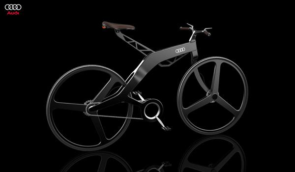 奧迪概念運動型電動自行車設計