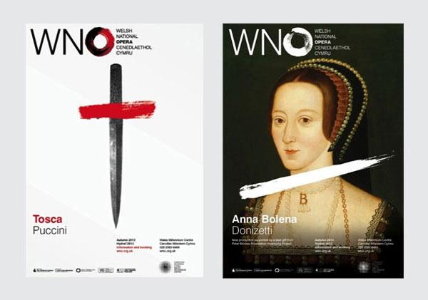 威尔士国家歌剧院新形象设计 - xiangyang 向阳 - XY