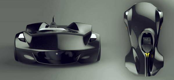 经典元素未来化捷豹XK I概念车设计高清图片