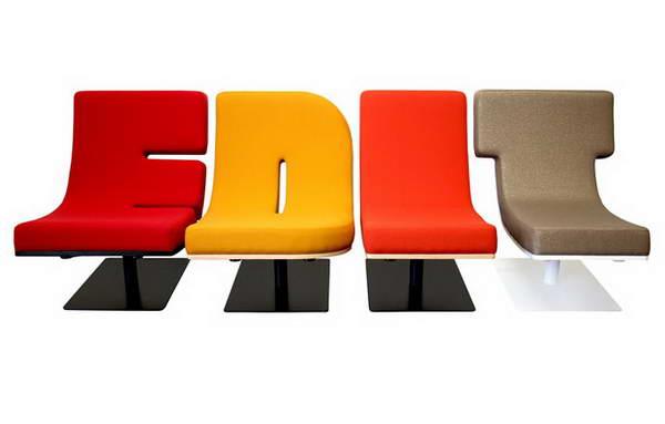 字母家具创意设计