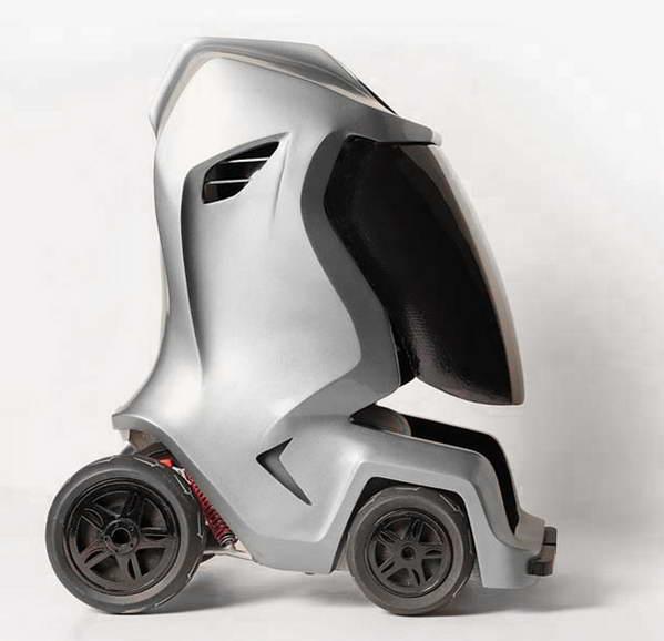 Myle紧凑型电动汽车概念设计 视觉同盟 Visionunion Com