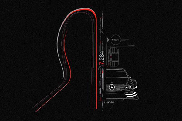 2013广告设计大赛_梅赛德斯奔驰运动汽车平面广告设计 - 视觉同盟(VisionUnion.com)