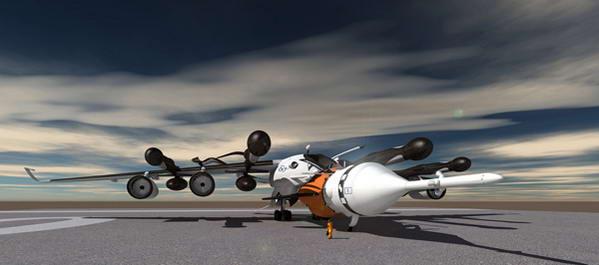 轨道飞行器的概念设计旨在取代现有的运载火箭,它是一种比航天飞机更
