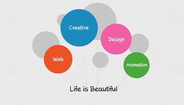网页设计创新式博客与精选-UI布局交互国内装修设计图片