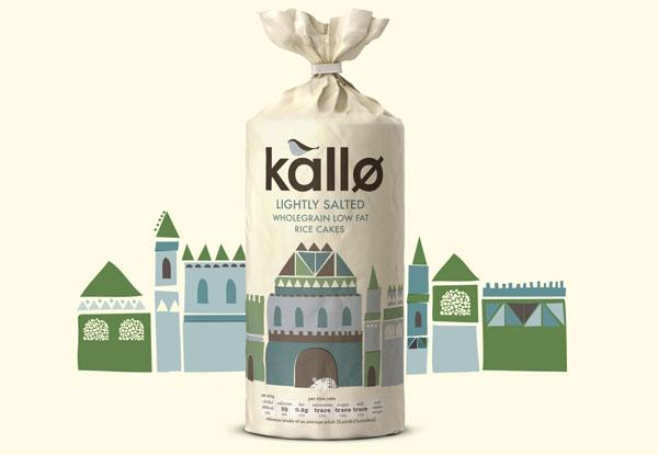 英国kallo天然食品包装设计