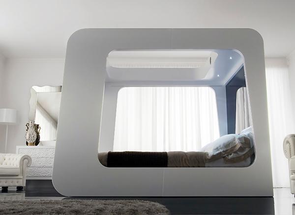 无需起床卧室设备创意设计