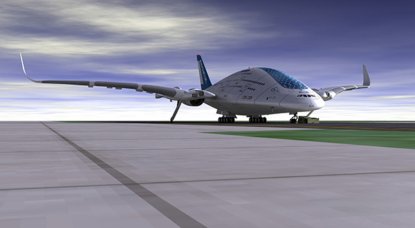 """""""天空鲸鱼""""飞机概念设计"""