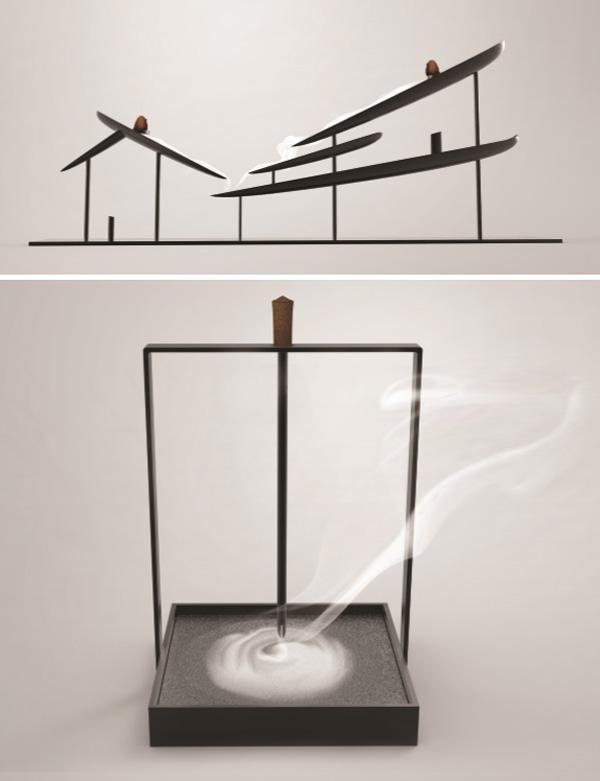 作品名称/project:江南香台/hometown incense set  设计师/designe图片
