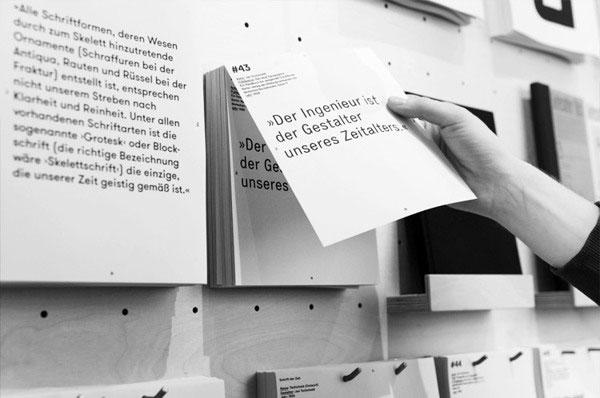 德国on—type版式展览视觉设计