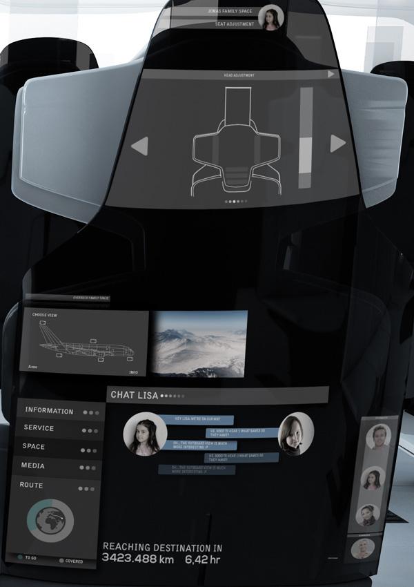 飞机经济舱座椅设计