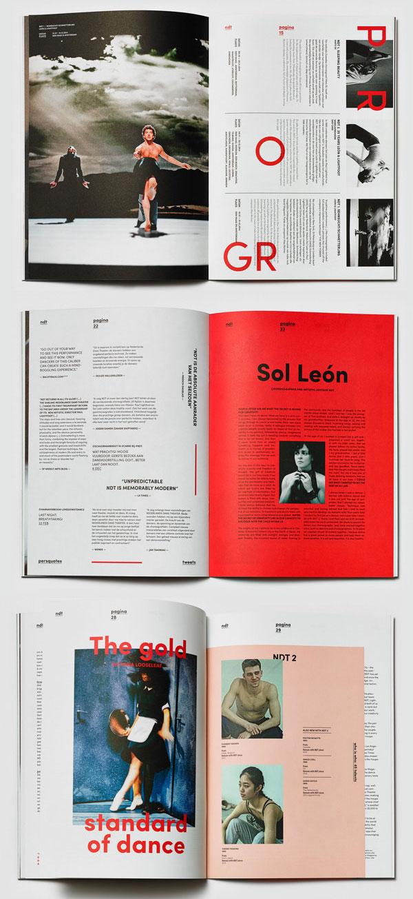 荷兰ndt杂志编排设计