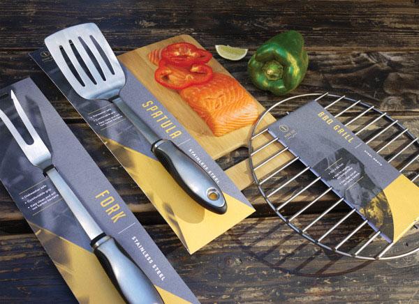 烧烤工具包装设计
