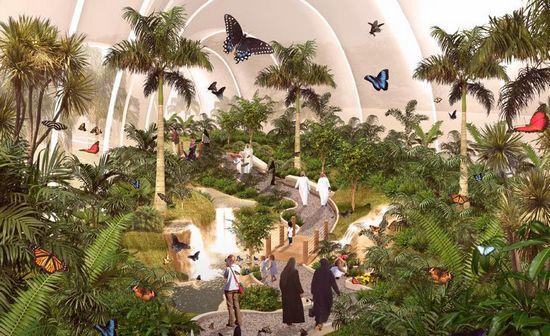沙特阿拉伯阿卜杜拉国王国际花园
