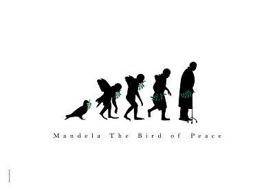 """""""纳尔逊·曼德拉自由的鸽子""""海报设计展作品欣赏(一)"""