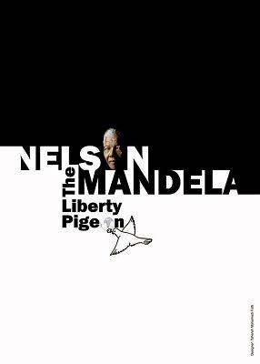 """""""纳尔逊·曼德拉自由的鸽子""""海报设计展作品欣赏(四)"""