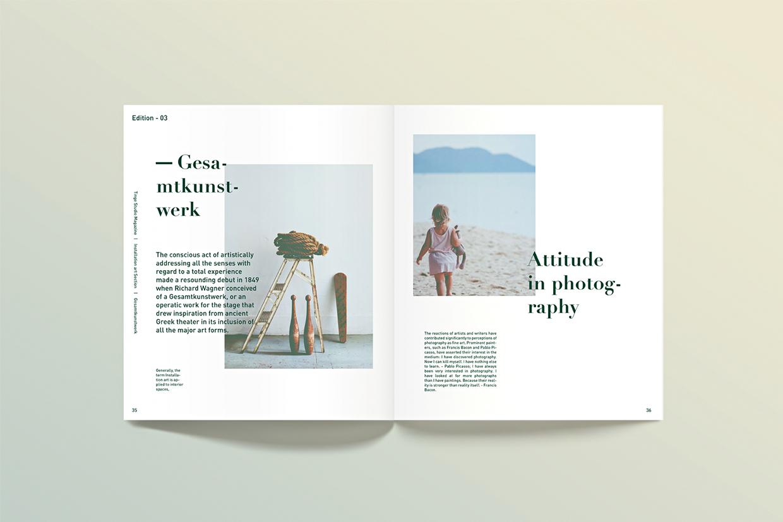财经资讯_阿联酋《Ting》杂志排版设计 - 视觉同盟(VisionUnion.com)