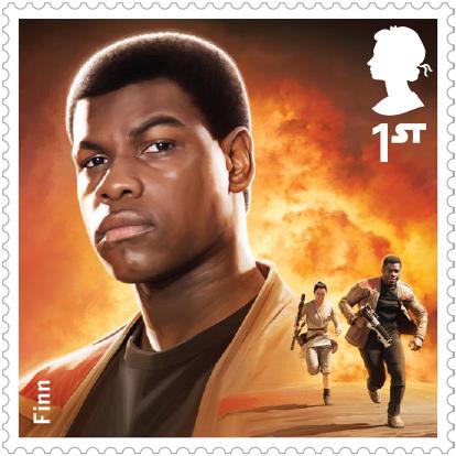 《星球大战7:原力觉醒》邮票设计