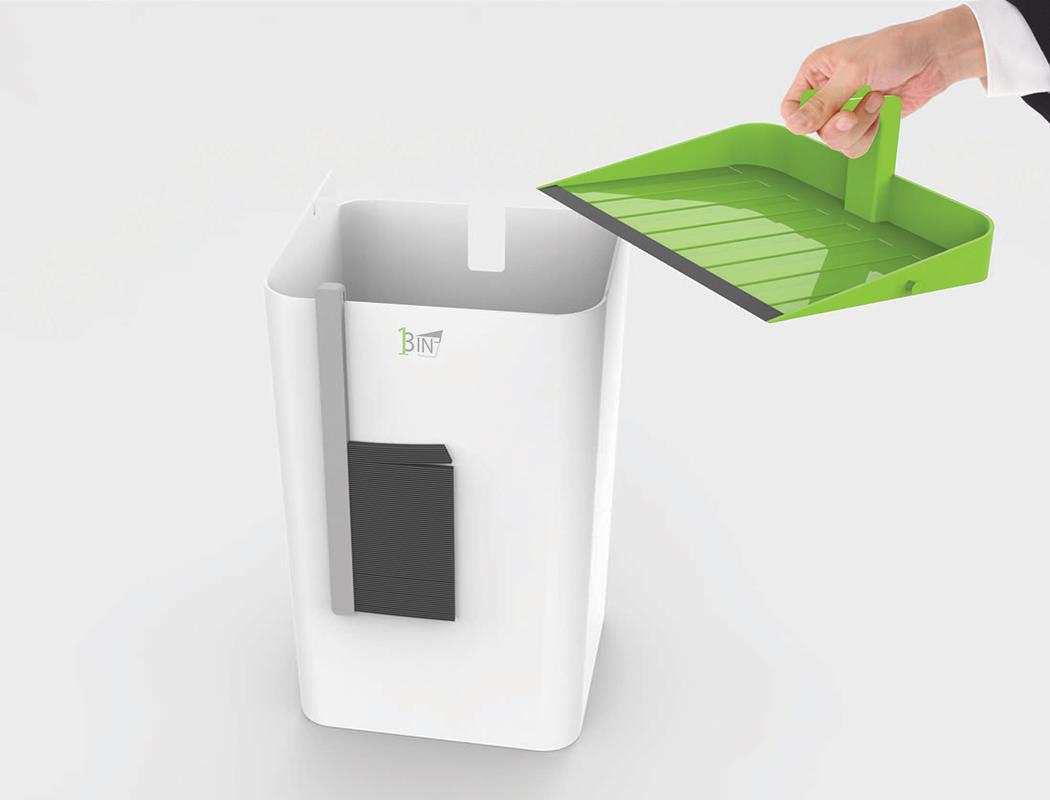 3合1垃圾桶设计