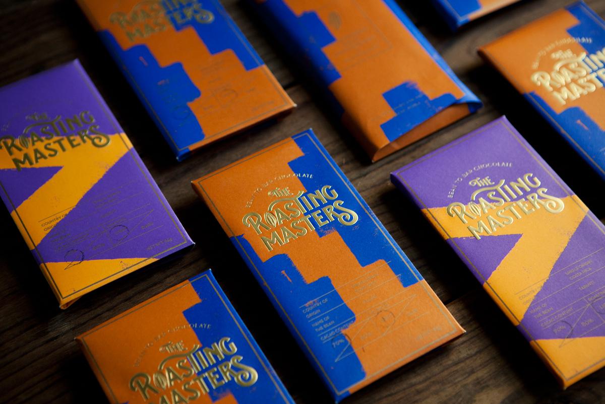 娱乐资讯_韩国品牌Roasting Masters巧克力包装设计 - 视觉同盟(VisionUnion.com)