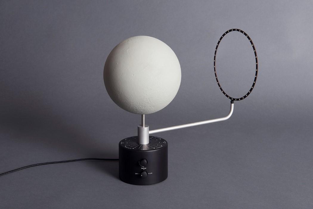 仿真月球台灯设计