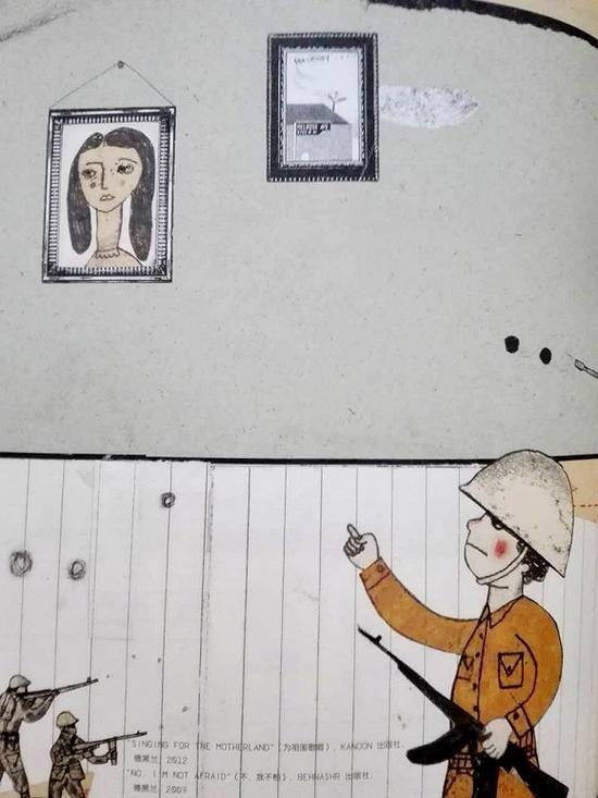 中国 奥斯卡/选自绘本《安提瓜之夜(Noche Antigua)》。