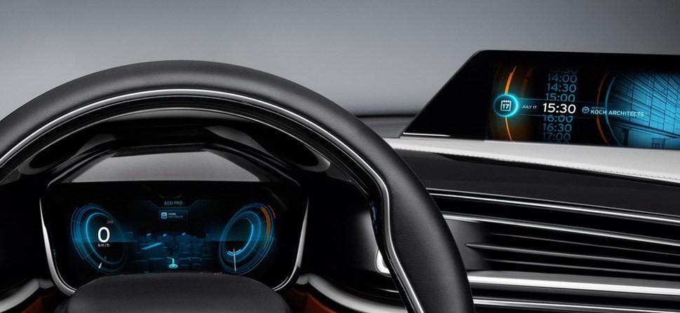 ui設計案例|汽車儀表盤用戶界面的歷史性革新