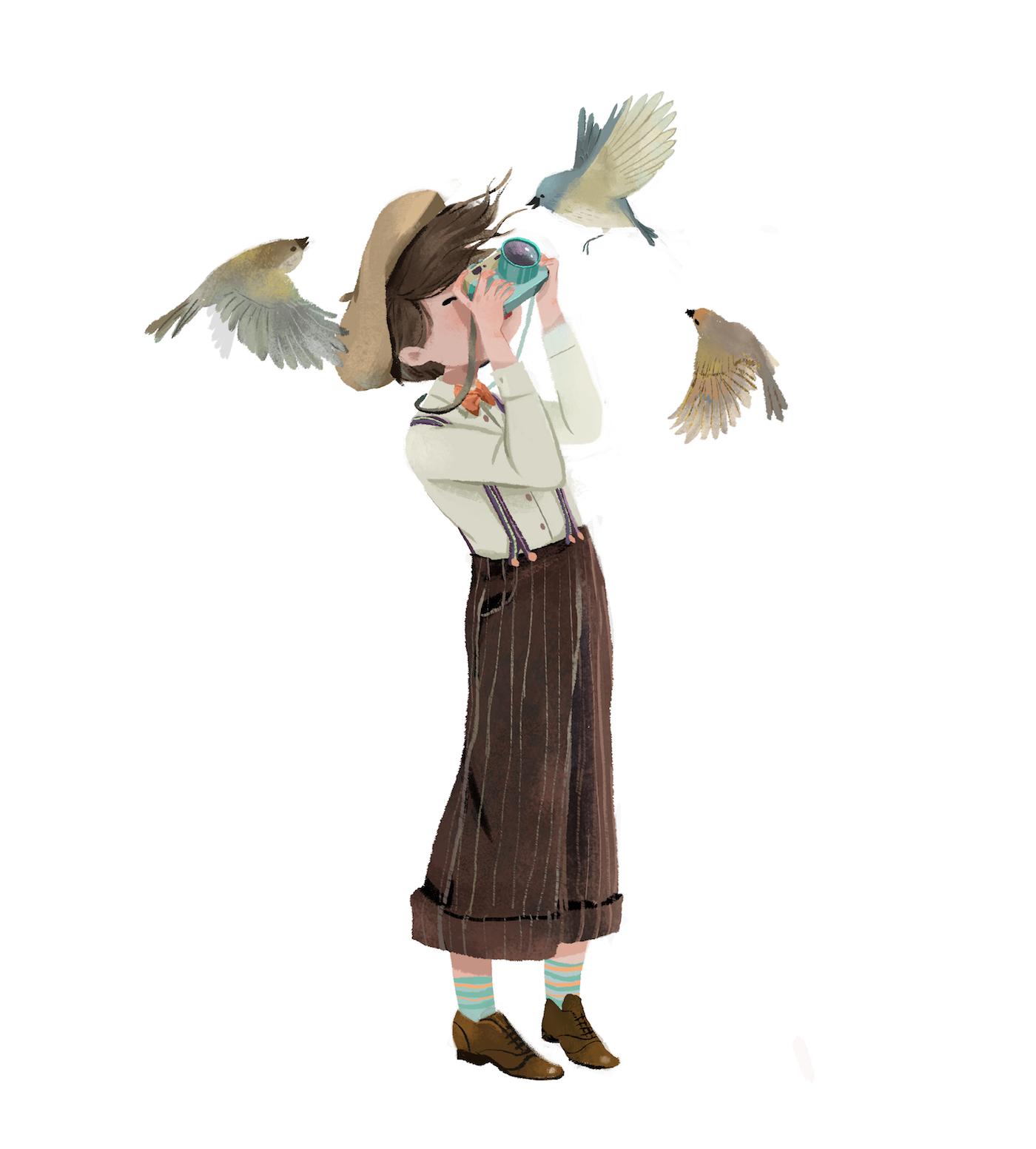 娱乐资讯_越南插画师Dung Ho人物插画欣赏 - 视觉同盟(VisionUnion.com)