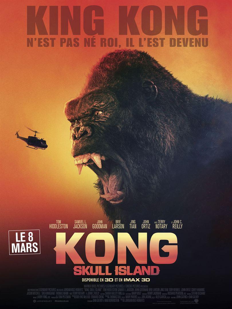 电影《金刚:骷髅岛》海报设计