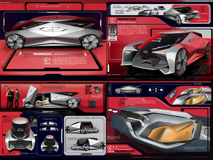 2017年cdn中国汽车设计大赛获奖选手名单公布