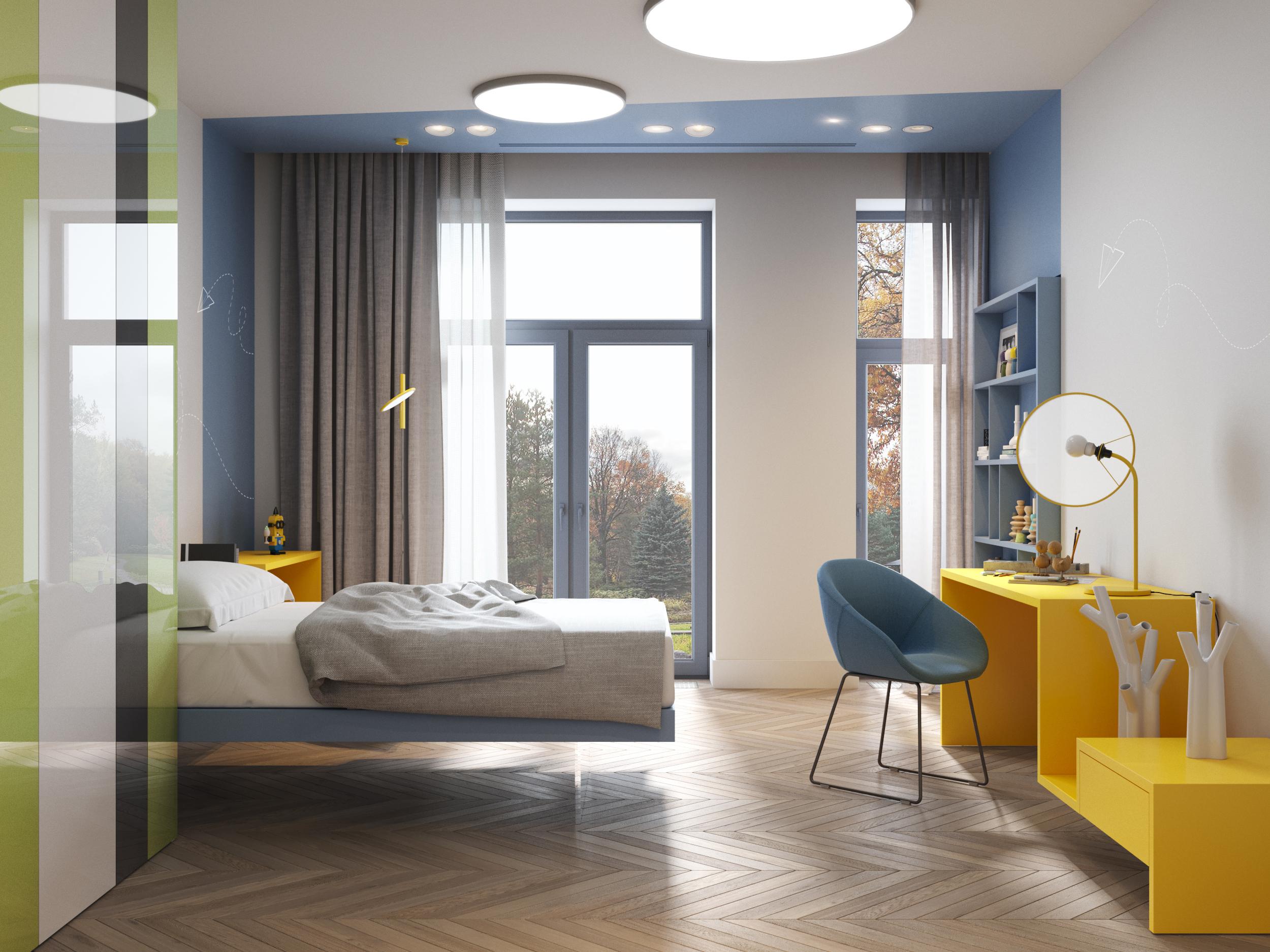 国际资讯_莫斯科私人住宅室内设计欣赏 - 视觉同盟(VisionUnion.com)