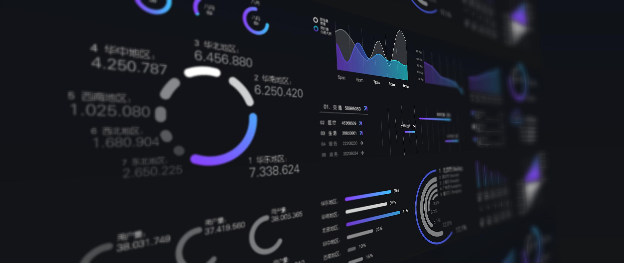 """全球资讯_""""连接中国""""数据信息可视化UI设计 - 视觉同盟(VisionUnion.com)"""