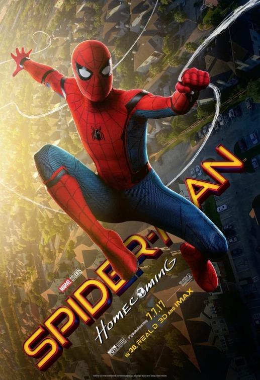 电影《蜘蛛侠:英雄归来》海报设计