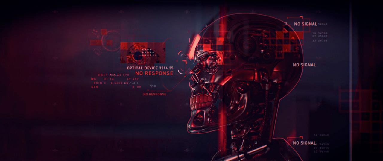 """全球资讯_终结者/天网""""Terminator Genisys""""UI设计 - 视觉同盟(VisionUnion.com)"""