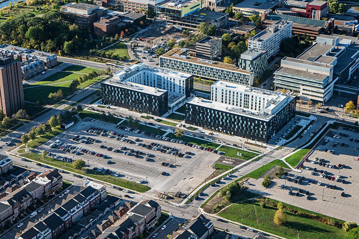 加拿大建筑设计风格-多伦多约克大学方舟屋建筑欣赏