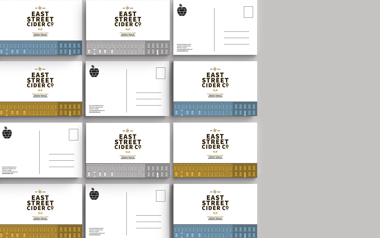 """加拿大""""东街苹果酒""""包装设计"""