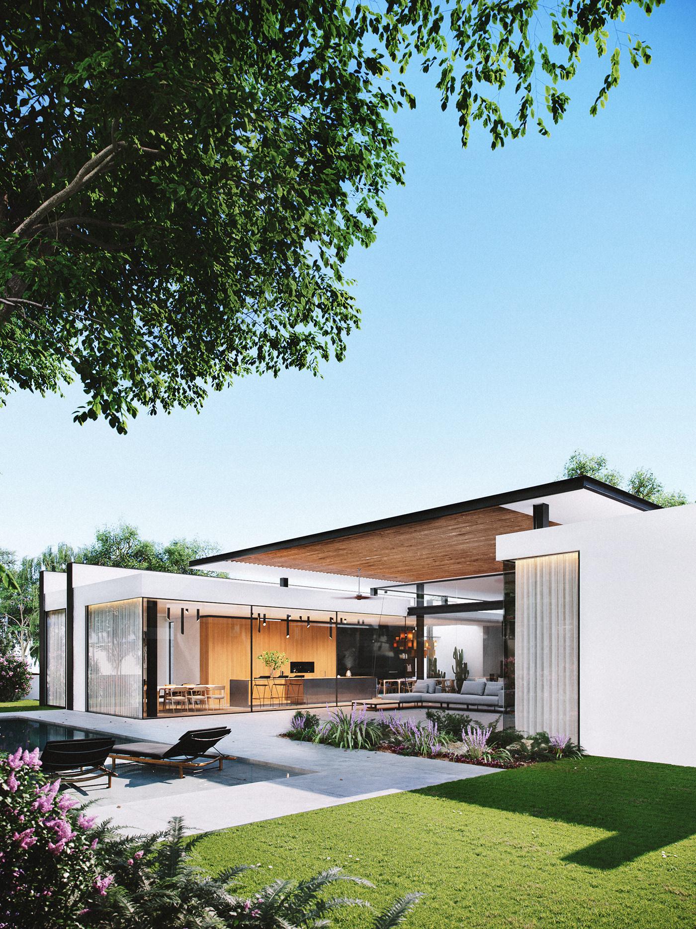 财经资讯_建筑设计师Raz Melamed以色列私人住宅建筑设计 - 视觉同盟(VisionUnion ...